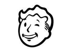 Fallout Vault Boy Wink Face Vinyl Sticker Decal