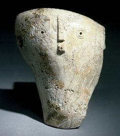 Shell Mask Date:1200-1700 Place:Tennessee/United States Classification:Shell Measurements:715/16 x 613/16 x 23/16 in.