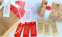 """Finmark on Instagram: """"JUST ARRIVED ***Christmas Tags + Stickers*** It's time to start preparing for Christmas with these essentials from Finmark. Mix and match…"""" Gift Wrapping Paper, Christmas Tag, Mix N Match, Wraps, Stationery, Essentials, Stickers, Instagram, Paper Mill"""