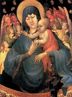 Malouel Jean - Madonna and Child with Angels