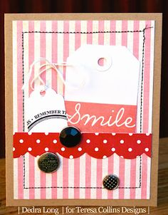 Teresa Collins, Spring Fling Card by DT Member Dedra Long
