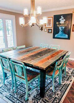 Beautiful custom color table!