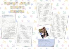 """""""Diary of a First Timer"""" - Article commission for Bupa Cromwell Hospital's health and lifestyle magazine """"Health etc."""" - Being a new mum in Kensington"""