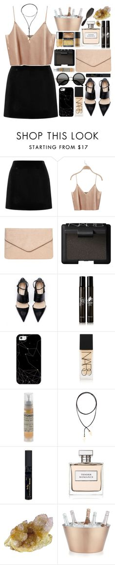 """""""Tender Romance"""" by ladyvalkyrie ❤ liked on Polyvore featuring Marc Jacobs, Dorothy Perkins, NARS Cosmetics, The Row, Diptyque, Casetify, Le Labo, Vanessa Mooney, Reviva Labs and Ralph Lauren"""