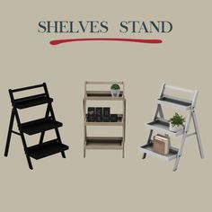 Sims 4 Updates: Leo Sims - Furniture, Single items : Shelf Stand, Custom Content Download!