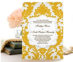 Find wedding invitations for your Northern California wedding. See photo galleries from the best wedding invitation companies and other event… Wedding Etiquette, Wedding Invitation Etiquette, Wedding Invitation Suite, Wedding Vendors, Yellow Wedding Invitations, Affordable Wedding Invitations, Invites, Wedding Paper Divas, Happy Birthday Gifts