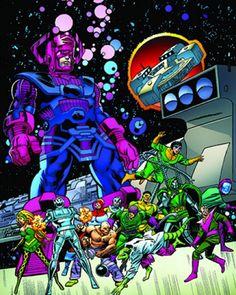 Galactus Marvel, Molecule Man, Pile Driver, Absorbing Man, Winchester, Spiderman, Comic Books, Superhero, Book Stuff
