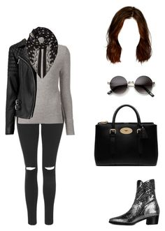 """""""70s Chic"""" by aracely-munoz on Polyvore featuring Topshop, Modern Vice, Chloé, AllSaints, Mulberry, Yves Saint Laurent, modern and ModernViceContest"""