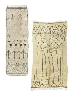 Vintage Moroccan carpets  at FJ Hakiman