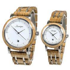 Drevené hodinky pre páry so Zľavou a s dopravou ZDARMA – waidzeit.sk Wood Watch, Watches, Accessories, Collection, Wooden Clock, Wristwatches, Clocks, Jewelry Accessories