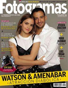 Alejandro Amenábar, Emma Watson - Fotogramas Magazine Cover [Spain] (October 2015)