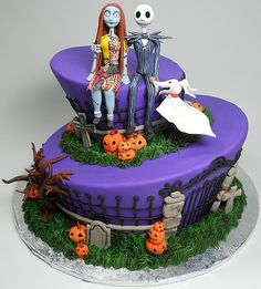 how to make sally from nightmare before christmas tutorial fondant - Google Search