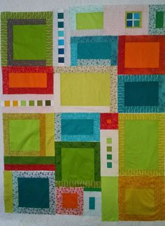 Free Motion Friday - The Start of a New Quilt