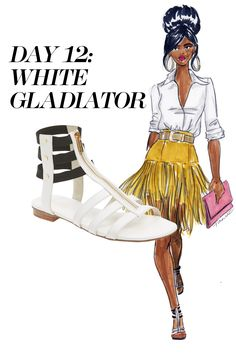 For the month of April I'm illustrating spring's must-have shoes for Marie Claire and Nordstrom. Check out the entire slideshow at MarieClaire.com, and shop the looks at Nordstrom.com.
