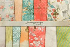 Check out Dreams Digital Papers by 7thAvenueDesign on Creative Market