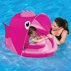 Baby Swim Float Trainer Pool Canopy Sun Shade Kid Seat Raft Ring Beach Boat Toys  sc 1 st  Pinterest : baby pool with canopy - memphite.com