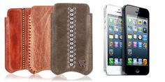 Leather iPhone 5 cases by itZbcause.com