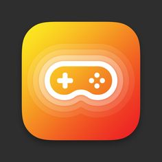 Gamepad / joystick app icon by Alex Sikorski