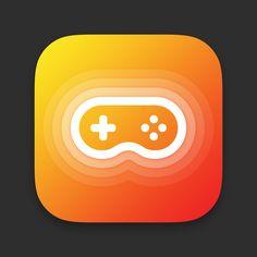 Gamepad / joystick app icon by Alex Sikorski