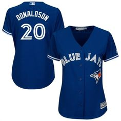 Cheer for the Toronto Blue Jays with this Josh Donaldson Cool Base Player jersey from Majestic. It features vibrant Toronto Blue Jays and Josh Donaldson graphics and Cool Base technology so you stay cool and comfortable. Toronto Blue Jays, Jackie Robinson Day, Troy Tulowitzki, To Boast, Jersey Outfit, Josh Donaldson, Royal Blue, Mlb, Baseball Cakes