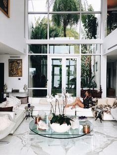 by tuulavintage / Miami dream house - Miami Beach, Florida