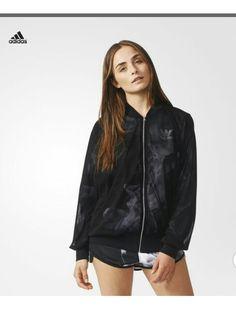 the latest 9a93f 1bf5a Black Adidas, Tracksuit Tops, Adidas Canada, Adidas Official, Rita Ora,