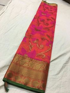 Kanchi border korasilk sarees Order what's app 7995736811
