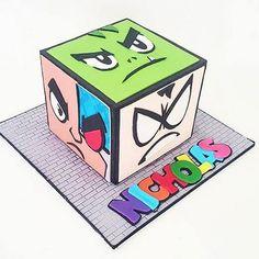 Teen titans go cake …