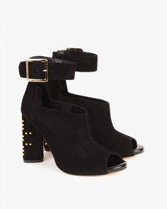 SANDAŁY 070 -9971-CZAR-W Heeled Mules, Booty, Ankle, Spring, Heels, Fashion, Heel, Moda, Swag