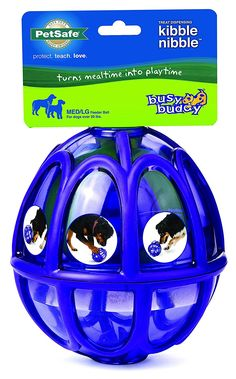 PetSafe Busy Buddy Kibble Nibble Meal Dispensing Dog Toy ** Read more at the image link.