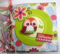 Today Angi Barrs has a great tutorial for you that uses handy dandy paper bags. It's fun and easy and you can design it any way you like. Paper Bag Books, Paper Bag Album, Mini Scrapbook Albums, Mini Albums, Fun Easy Crafts, Journals, Notebooks, Smash Book, Mini Books