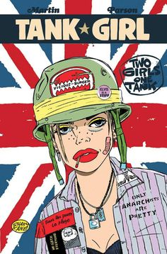 *High Grade* (W) Alan Martin (A) Brett Parson (CA) Shaky Kane Fresh off the back of their latest calamitous chapter comes this shiny new Tank Girl tale from series creator, Alan Martin and artist extr