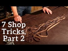 The Leather Element: 7 Shop Tricks, Part 2 Leather Dye, Sewing Leather, Leather Tooling, Leather And Lace, Diy Leather Projects, Leather Crafts, Clay Crafts For Kids, Diy Crafts, Purse Patterns