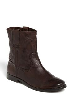 Frye Frye 'Anna - Shortie' Leather Boot (Women) available at #Nordstrom
