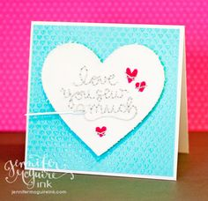 Stitching with Stamps | Jennifer McGuire Ink
