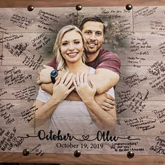 Wood Anniversary Gifts for Men Gift Anniversary Gifts for Personalized Wedding Guest Book, Rustic Wedding Guest Book, Wedding Gifts For Guests, Wedding Book, Wedding Souvenir, Diy Wedding, Wedding Favors, April Wedding, Garden Wedding