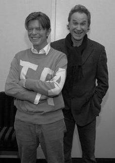 David Bowie and Ray Davies.