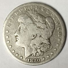 90% Silver 1880-S Morgan Silver Dollar. Take a LOOK!