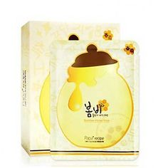 Papa Recipe Bombee Honey Mask- Sheet Mask  An all-natural formula is made with organic propolis & honey extract rich in nutrients for intense hydration and a smoother complexion.