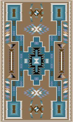 Navajo Too Cross Stitch von MartisXSDesigns auf Etsy Native American Rugs, Native American Patterns, Native American Design, Southwest Quilts, Southwest Art, Southwestern Rugs, Navajo Weaving, Navajo Rugs, Cross Stitch Embroidery
