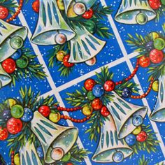 Vintage Christmas Wrapping Paper - shop: www.nonnasbaby.co.uk