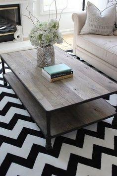 Pretty coffee table!