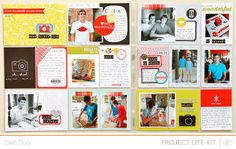 Project Life Week 35 by debduty at @Studio_Calico #SCbluenote