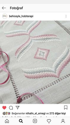Bargello Patterns, Hardanger Embroidery, Ribbon Embroidery, Cross Stitch Cushion, Swedish Weaving, Hand Embroidery Designs, Knitted Blankets, Needlepoint, Needlework