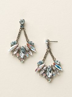 Fanned Marquise Crystal Post Earring in Seaside by Sorrelli - $125.00 (http://www.sorrelli.com/products/ECY16ASSEA)