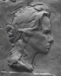 Scottsdale Artists School | Portrait and Figure Sculpture in Bas Relief | Online Registration