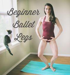 Beginner Ballet Leg Routine - Peaceful Dumpling