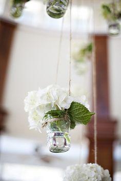 jelly jar vase
