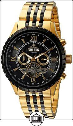 Burgmeister BM327-227 - Reloj de pulsera hombre, revestimiento de acero inoxidable, color dorado de  ✿ Relojes para hombre - (Gama media/alta) ✿