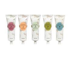 The Floral Gift Guide - Tocca Crema da Mano Luxe hand creams, $20 each, sephora.com.